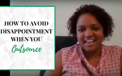 How to avoid disappointment when you outsource